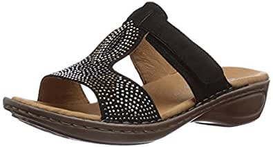 ara hawaii claquettes femme noir noir 01 35 eu chaussures et sacs. Black Bedroom Furniture Sets. Home Design Ideas