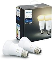 Philips Lighting White Ambiance 2 Lampadine LED, E27, 9 W, Confezione Doppia, Bianco, Versione 2018