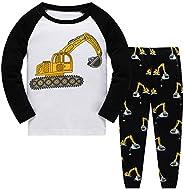 Qzrnly Niño Pijamas Dos Piezas PJs Manga Larga Pijama