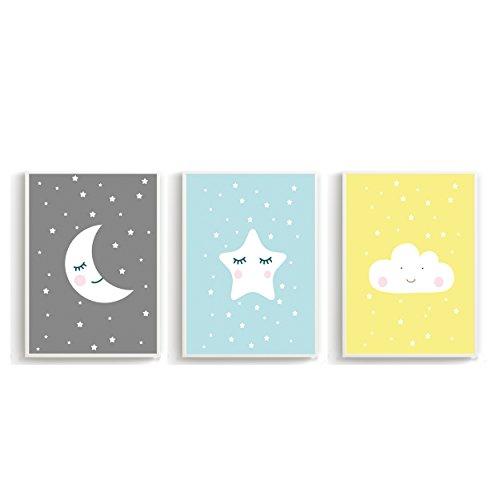 🛋 Wandposter für Kinderzimmer, Babyzimmer Poster, Wandbild ...