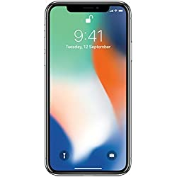 Apple iPhone X (Silver, 64GB)