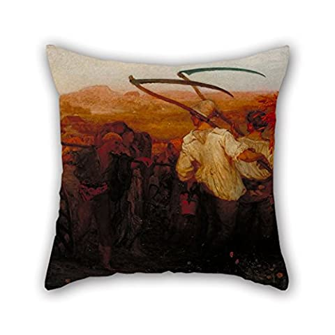 beautifulseason Ölgemälde George Mason – The Harvest Moon Christmas Kissen 40,6 x 40,6 cm/40 von