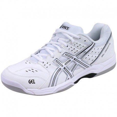 Asics Gel-Dedicate 3 Indoor Tennisschuh White / Li
