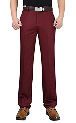 Hommes Total Freedom Relaxed Classic Fit Flat Front