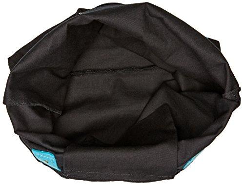 Volcom, Borsa Surf Sand Shine, Nero (Black), 38 x 40 x 7 cm Nero (Black)