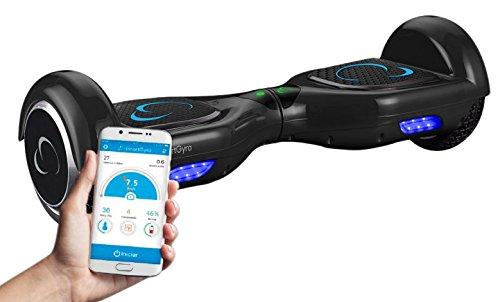 """SmartGyroX2, Patinete eléctrico con batería Samsung y certificado UL2272, color negro, talla 6.5"""""""