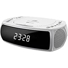 Silva Schneider CCD 16 Radio réveil Blanc.