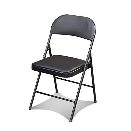 ZHEDIEYI Klappstuhl Sessel Computer Stuhl Haushalt Esszimmerstuhl Stilvolle Einfachheit Hocker Büro...