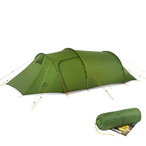 a1c5da7c977d7e 2 – 3 persona tenda a tunnel staccabile con Lobby Outdoor campeggio  arrampicata doppio strato impermeabile tenda ultraleggera 4 stagioni tenda  da campeggio ...