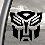 Aufkleber TRANSFORMERS AUTOBOT LOGO schwarz MOVIE Window Sticker