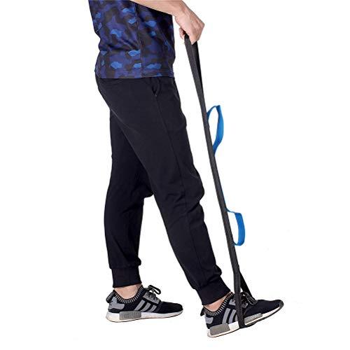 GFYWZ Oberschenkel- Und Beinhebergurt, Hebehilfen Für Ältere Menschen Zum Anheben Der Beine - Erwachsene, Behinderte, Behindertenlifter Fuß Mit Handgriff