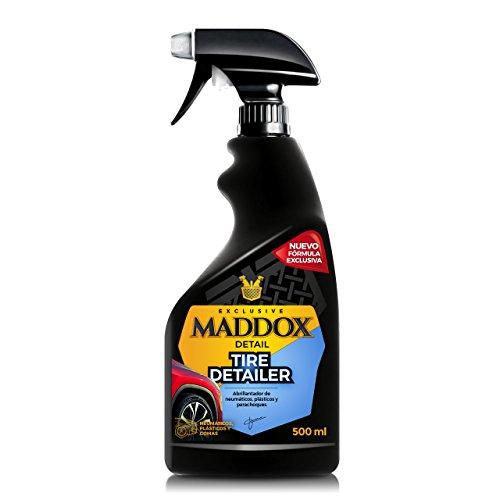 Maddox Detail 10102 Tire Detailer-Abrillantador de Neumáticos, Plásticos, Gomas de Exterior (500ml)