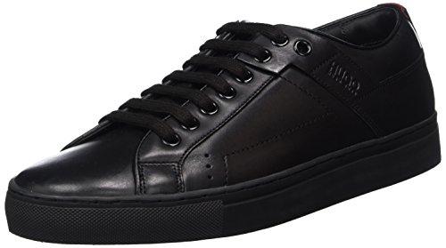HUGO Herren Futurism_Tenn_lt Sneaker, Schwarz (Black 2), 42 EU