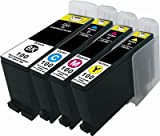 Prestige Cartridge Lexmark 100XL Lot de 4 Cartouches d'encre compatible avec Imprimante S300 S305 S308 S601 S409 S502 Pro202 Pro209 Prevail Pro701 Pro703 Pro803 Pro902 Noir/Cyan/Magenta/Jaune