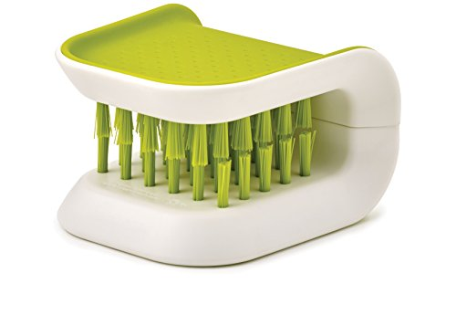 Joseph Joseph BladeBrush Knife and Cutlery Cleaner - Green