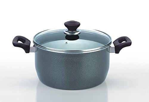 funkybuysr-26cm-hard-anodized-non-stick-heavy-gauge-ovenproof-casserole-stock-stew-soup-pot-pan