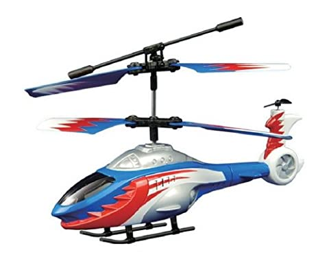 Auldey Skyrover 3 Channel Helicopter Supersonic Firebird (Blue/ Red)
