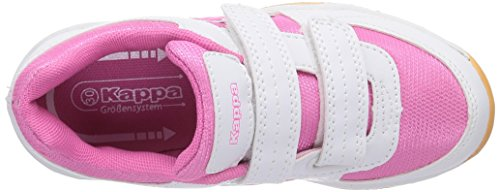 Kappa CABER Unisex-Kinder Sneakers Weiß (1027 white/l'pink)