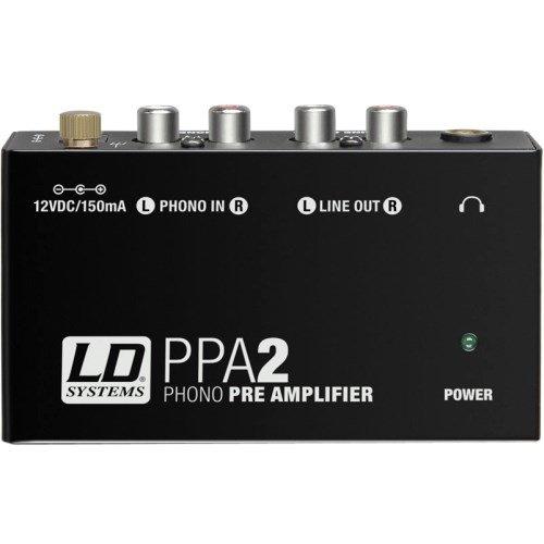 LD Systems ldppa2–ppa2Equalizer RIAA-Vorverstärker für Plattenspieler