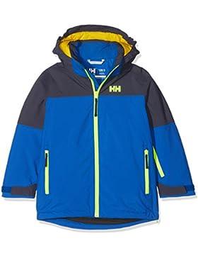 Helly Hansen Jr Progress Jacket Abrigo, Niños, Azul, 14 Años (Tamaño del Fabricante:14)