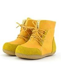 Botas de Nieve para niños cómodas y Suaves de Fondo cálido y cálidas Botas para niños niños y niñas Zapatos de algodón Zapatos de bebé con Fondo Suave
