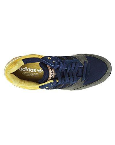 ADIDAS - Baskets basses - Homme - Tech Super Nubuck Olive Bleu et Moutarde pour homme Bleu