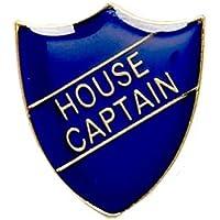 House Captain Shield Badge Blue SB015B