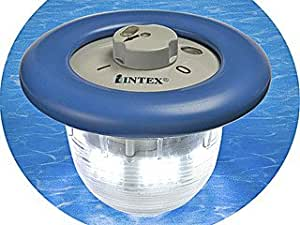 Lampe flottante bleue intex 96 led pour piscine intex for Piscine intex amazon