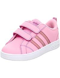 adidas VS ADVANTAGE CMF INF - Zapatillas deportivaspara niños, Rosa - (ROSSUA/ROSFUE/FTWBLA), 19