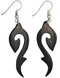 Ohrringe aus Holz, 1 Paar