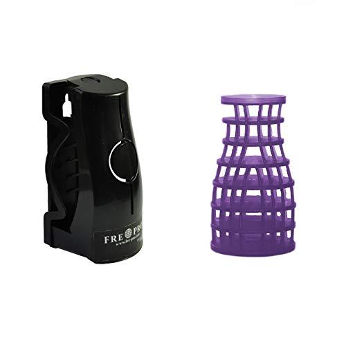 Fre-Pro ECO AIR 2.0 Duft - Fabulous Lavender,1 Stück inkl. schwarzer Halterung - zur einfachen Lufterfrischung großer Räume - 30 Tage Frischewirkung - Ingwer-raum-spray
