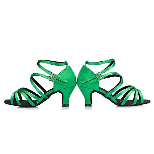 Miyoopark - Ballroom donna Green-6cm heel