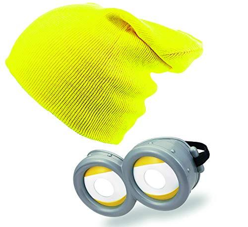 4sold Personalisierte Minion Goggles Kostüm Despicable Me Glasses Goggles (Yellow4, Kids)
