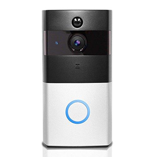 MUTANG Videoportero inalámbrico 720P HD audio bidireccional