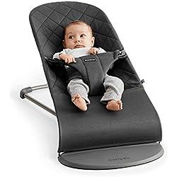 BabyBjörn Bliss - Hamaca para bebés de 0-2 años, Antracita