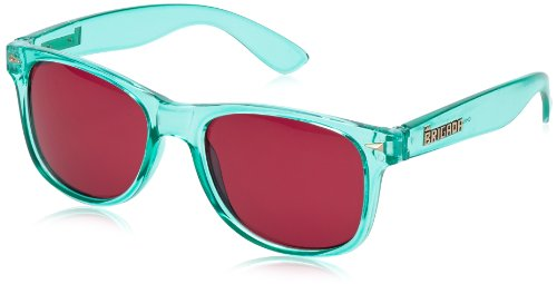 BRIGADA Sonnenbrille Glasses Lawless, Teal/Ruby Lens, One size, BRGGLALAWLES