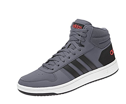 buy popular 0d61d 8280c Adidas Hoops 2.0 Mid, Chaussures de Fitness Homme, Multicolore  (Onix Cblack Hirere B44670), 45 1 3 EU