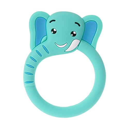 lunji bebé Mordedor jirafa/oso/elefante Chupete Silicona infantil Enfermedades Enfermos Cuidado Chew Toys...