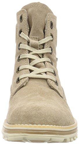 Tamaris 25273 Damen Combat Boots Beige (Cream 403)