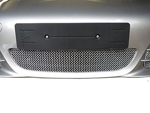 Porsche Boxster 981 - Calandre centrale - Finition argent (2012 onwards)