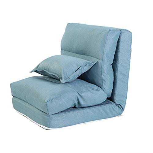 Dormitorio Sofá individual reclinable multifunción Lazy Couch Bay Ventana Silla Cama Lounge...