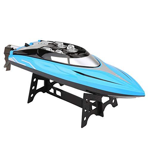 Dilwe RC Schnelle Geschwindigkeit Rennbootboote Spielzeug, 2,4 GHz Fernbedienung Boote für Erwachsene und Kinder, 4 Kanäle Wireless RC Boat Simulation Model