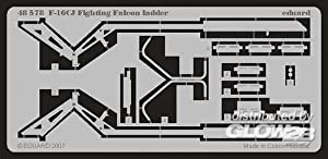 Eduard Accessories 4857830502000F de 16cj Fighting Falcon Ladder para Tamiya Montar