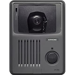 Aiphone JA-DAC Surface-Mount Audio/Video Door Station with Camera Controls, For Use with JA Series Audio/Video Intercom System