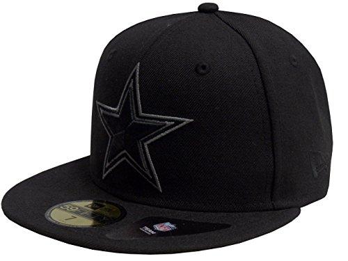 New Era Baseball Cap 59FIFTY Dallas Cowboys Basic Black Grey Gr. 7 1/2