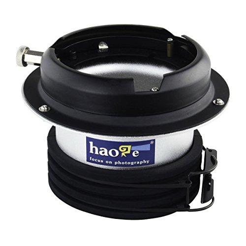 haoge Profoto per Bowens Mount speedring anello adattatore convertitore per studio luce stroboscopica Flash
