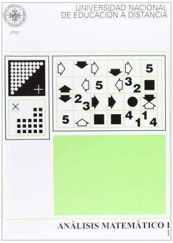 Análisis Matemático I. Vol. 1 y 2 (UNIDAD DIDÁCTICA) por D. Jesús FERNÁNDEZ NOVOA