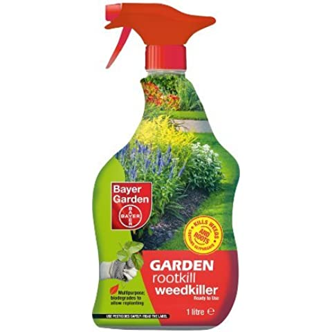 Bayer Garden 1L Liquido Weed Killer - Moss Killer