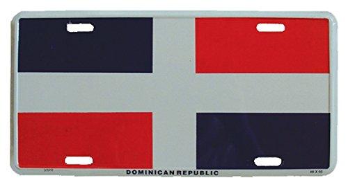 Preisvergleich Produktbild Blechschild Dominikanische Republik - 30cm x 15cm