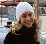 ROC-4x Strickmütze Wollmütze Wintermütze Mütze gestrickte Wintermützen Herrenmütze Skimütze Snowboardmütze Damenmütze Damenstrickmütze Beanie Herren Damen schwarz braun weiß (wollweiß)